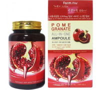 FarmStay сыворотка многофункциональная  с экстрактом граната Pomegranate All-In-One Ampoule, 250 мл.